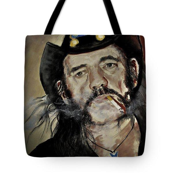 Lemmy Kilmister Motorhead Tote Bag