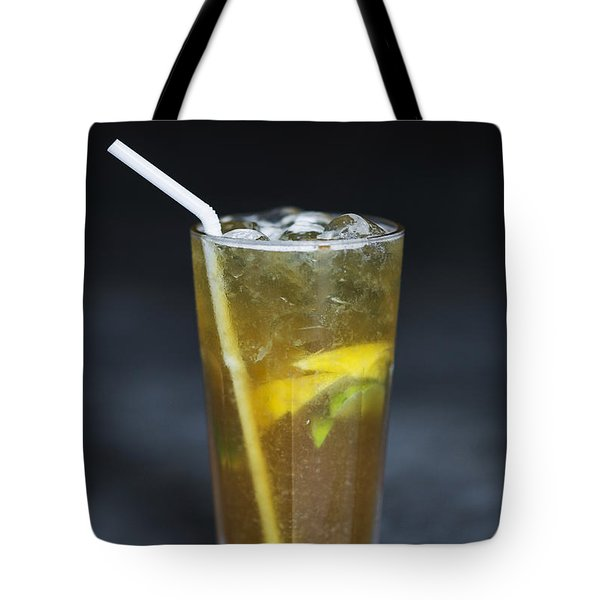 Lemon And Lime Ice Tea With Brown Sugar And Angostura Bitters Tote Bag