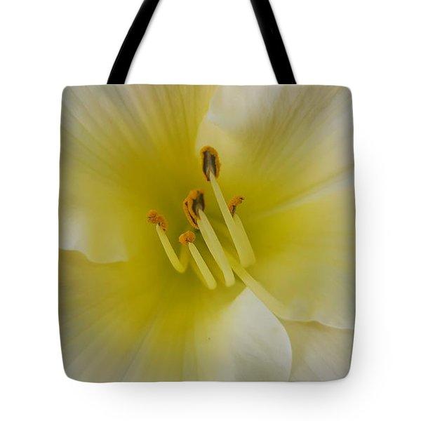 Lemon Daylily Tote Bag