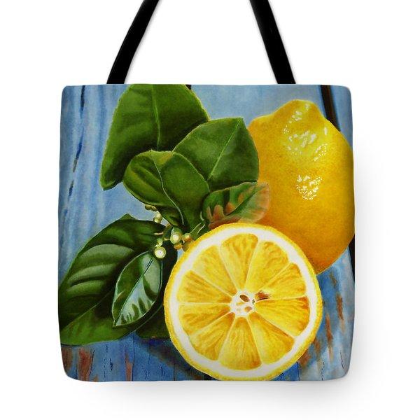 Lemon Fresh Tote Bag