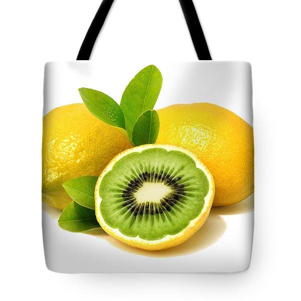 Lemon Kiwi Tote Bag