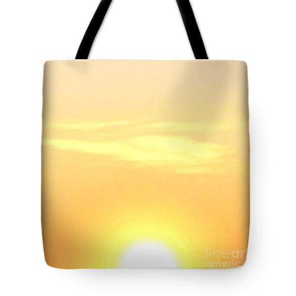 Lemon Meringue Sky Tote Bag