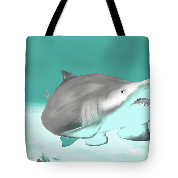 Lemon Shark Tote Bag