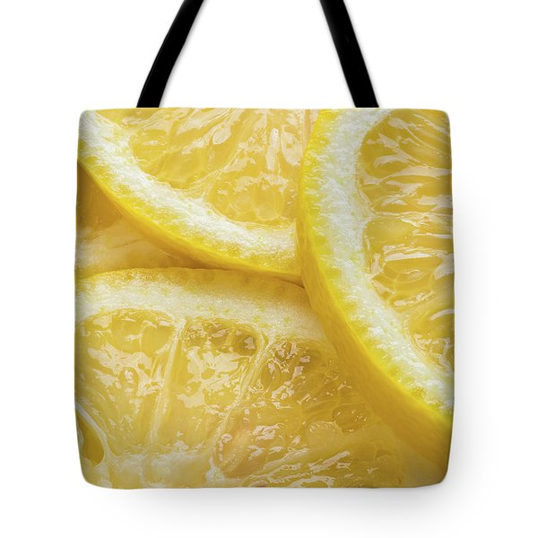 Lemon Slices Number 3 Tote Bag