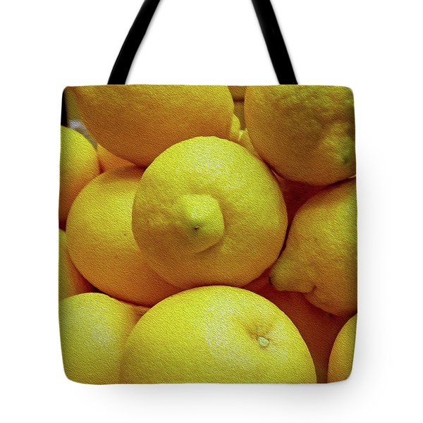 Lemon Squeeze Tote Bag