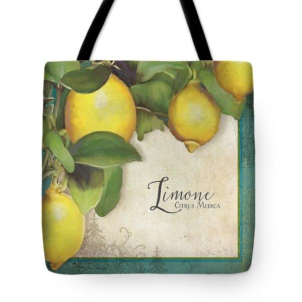 Lemon Tree - Limone Citrus Medica Tote Bag by Audrey Jeanne Roberts