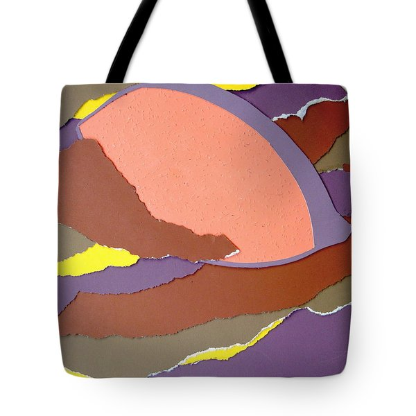 Lemon Twist Tote Bag by Vonda Lawson-Rosa
