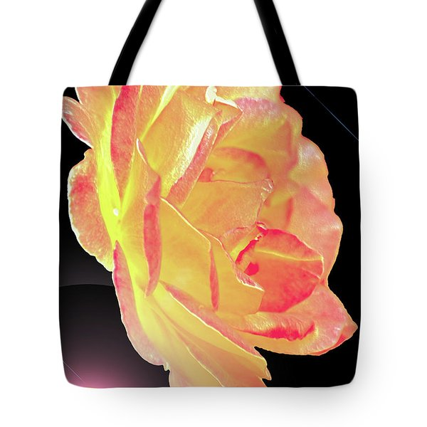 Lemonberry Rose Tote Bag