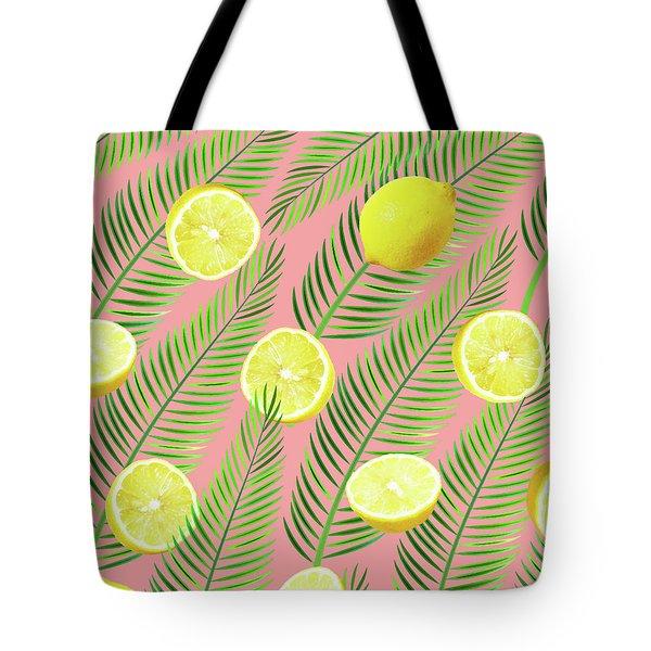 Lemons Tote Bag by Uma Gokhale