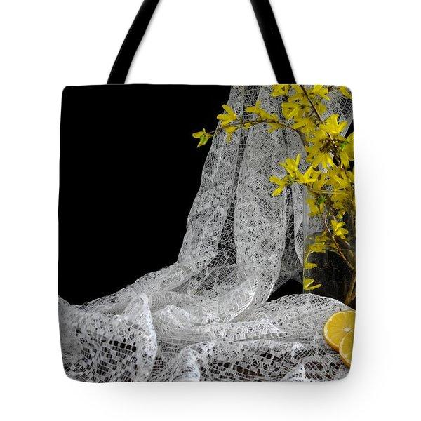 Lemons'n Lace Tote Bag