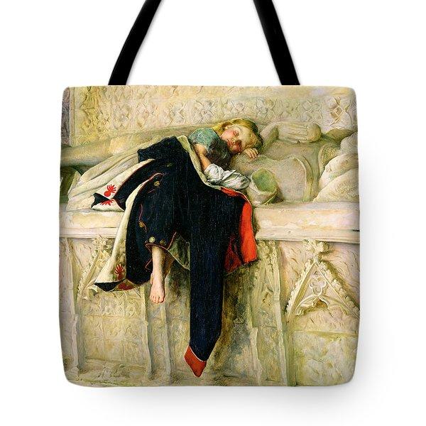 L'enfant Du Regiment Tote Bag by Sir John Everett Millais