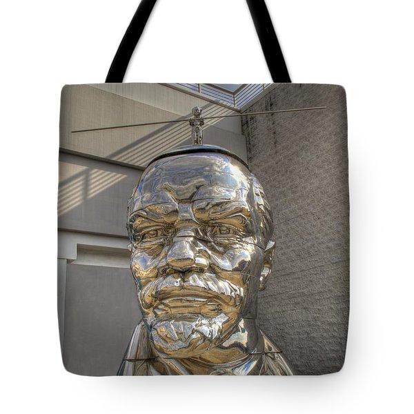 Lenin On La Brea Tote Bag