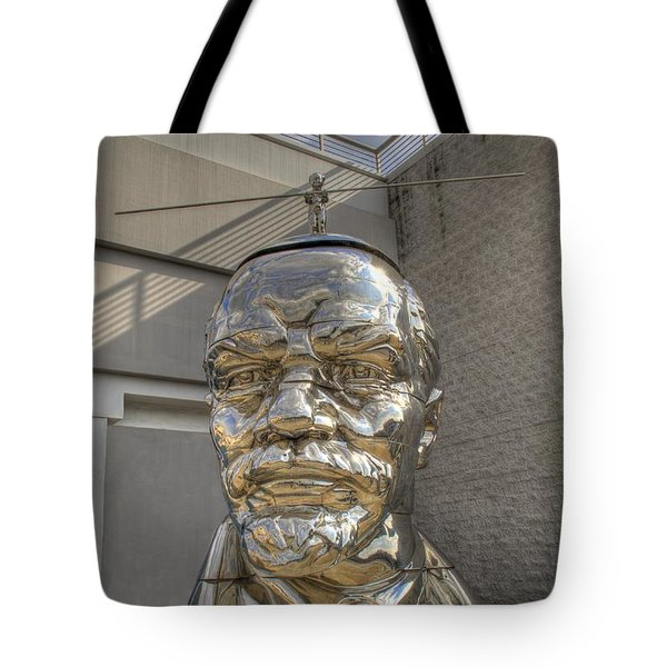 Lenin On La Brea Tote Bag