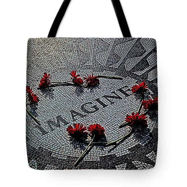 Lennon Memorial Tote Bag