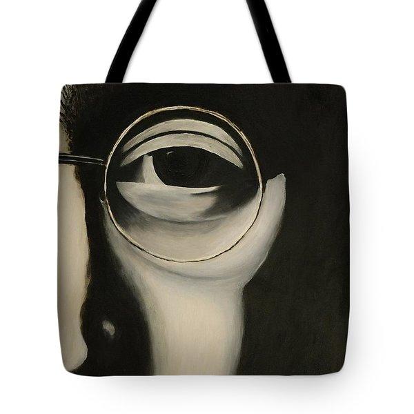 Lennon's Left Eye Tote Bag