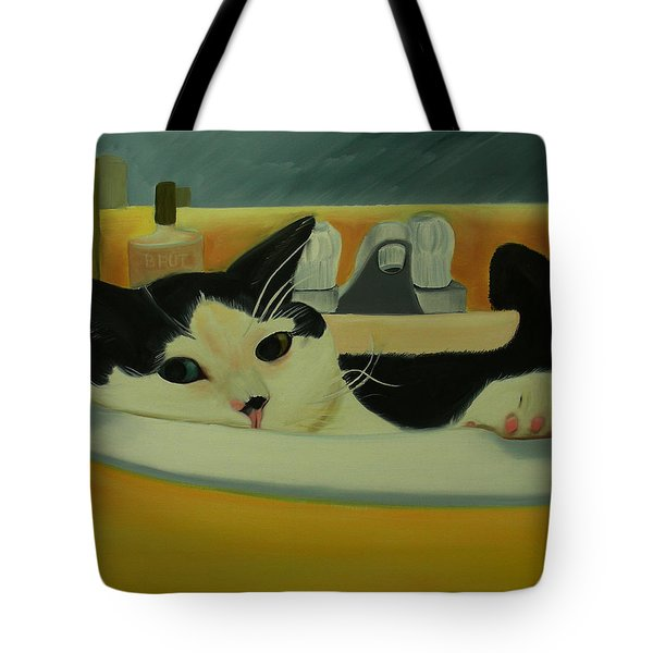 Lenny Bruce Tote Bag by Dean Glorso