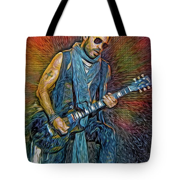 Lenny Kravitz, Musician Tote Bag