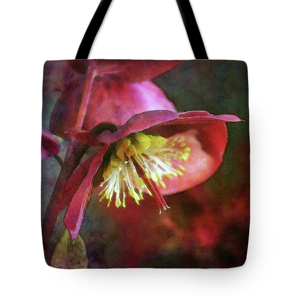 Lenten Rose Bowing To The Sun 8712 Idp_2 Tote Bag