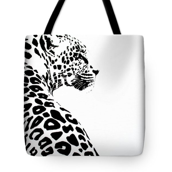 Leo-pard Tote Bag