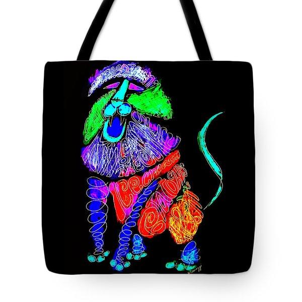 Leo, Rampant -- Negative Version Tote Bag