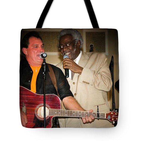 Leon Everette And Bill Pinkney Tote Bag
