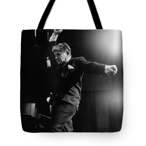 Leonard Bernstein Tote Bag by Granger