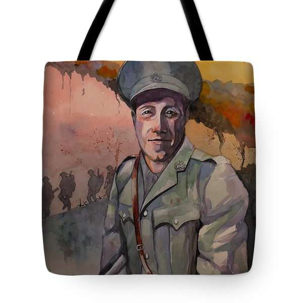 Leonard Keysor Vc Tote Bag by Ray Agius