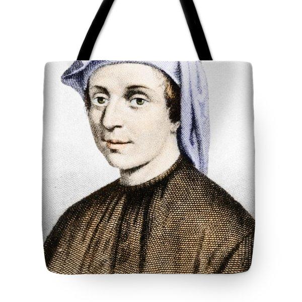 Leonardo Fibonacci, Italian Tote Bag by Science Source