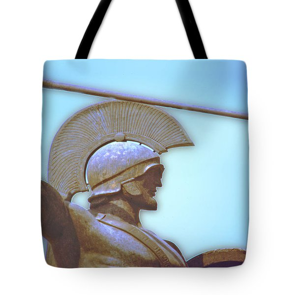 Leonidas At Thermopylae Ver 3 Tote Bag