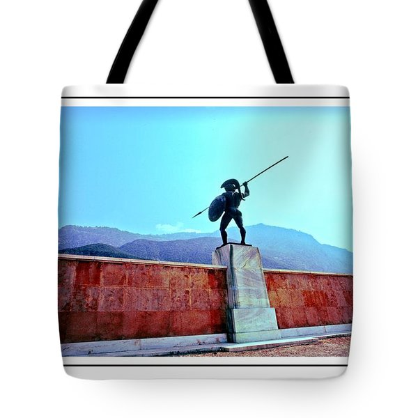 Leonidas At Thermopylae Ver 7 Tote Bag
