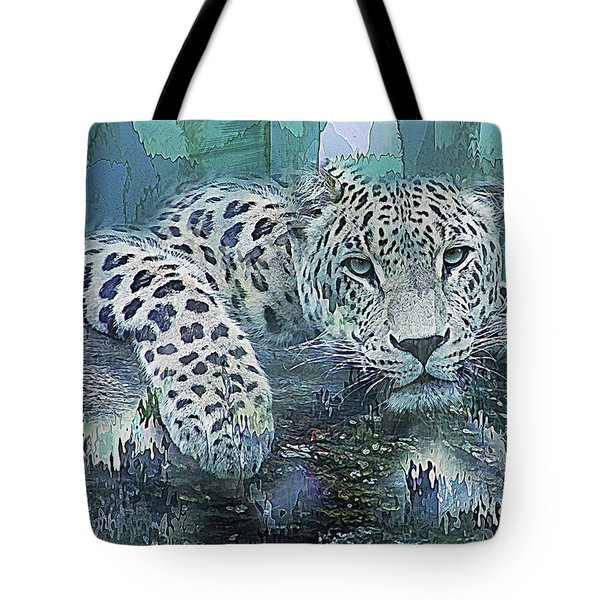 Leopard Abstract Tote Bag