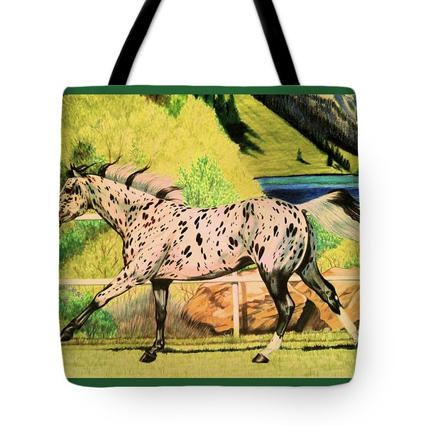 Leopard Appaloosa - Dream Horse Series Tote Bag
