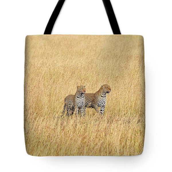 Leopard Pair Tote Bag