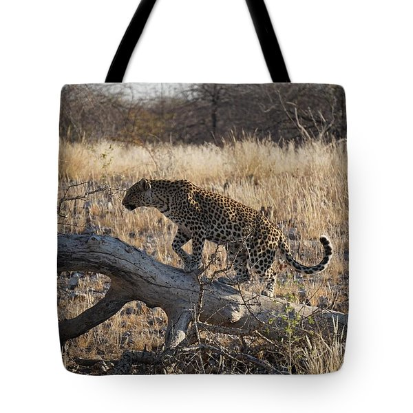 Leopard Tail Tote Bag