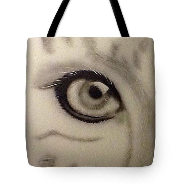 Leopard's Eye Tote Bag