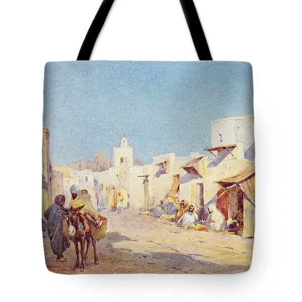 Tote Bag featuring the photograph Leopold Carl Muller 1887 by Munir Alawi