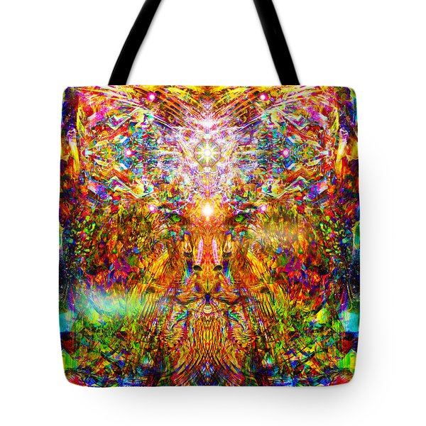 Leototem Tote Bag by Jalai Lama