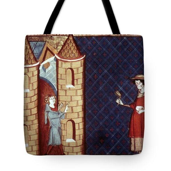 Leper House, C1220-1244 Tote Bag by Granger