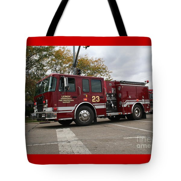 Leroy Fpd Tote Bag by Roger Look
