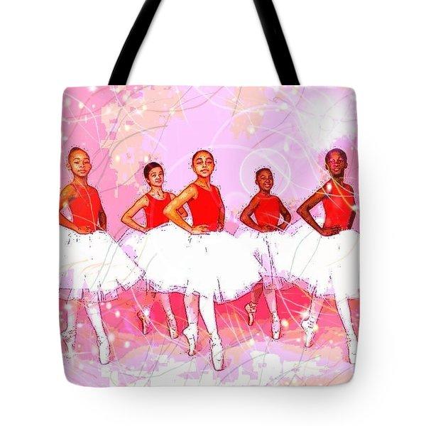 Les Danseurs Noirs Tote Bag