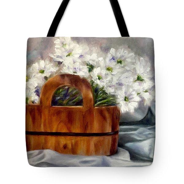 Les Fleurs D'ete Tote Bag