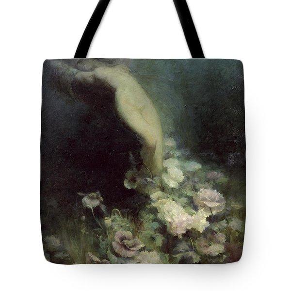 Les Fleurs Du Sommeil Tote Bag