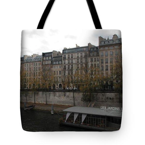Les Jardins Du Pont Neuf Tote Bag