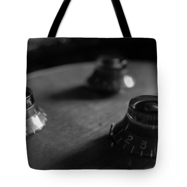 Les Paul Controls Series  Tote Bag