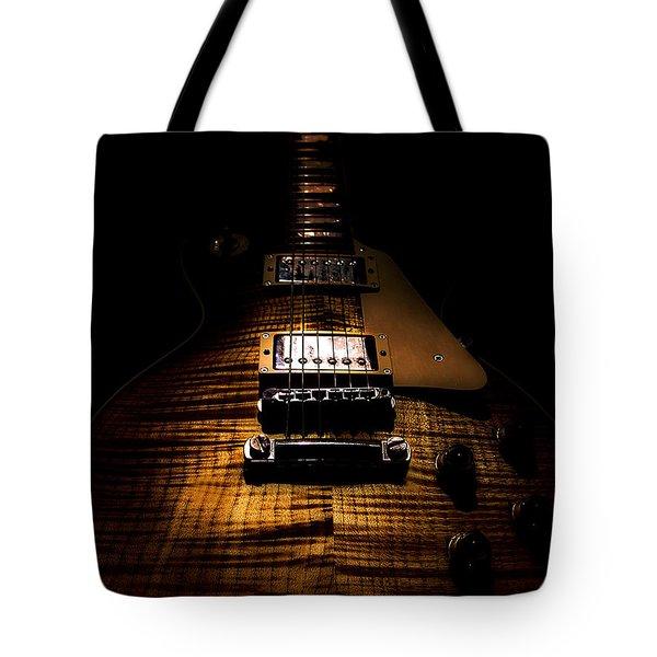 Burst Top Guitar Spotlight Series Tote Bag
