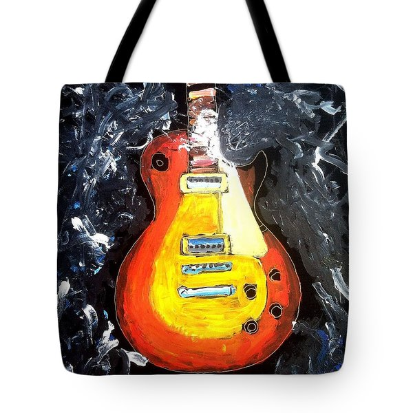 Les Paul Live Tote Bag