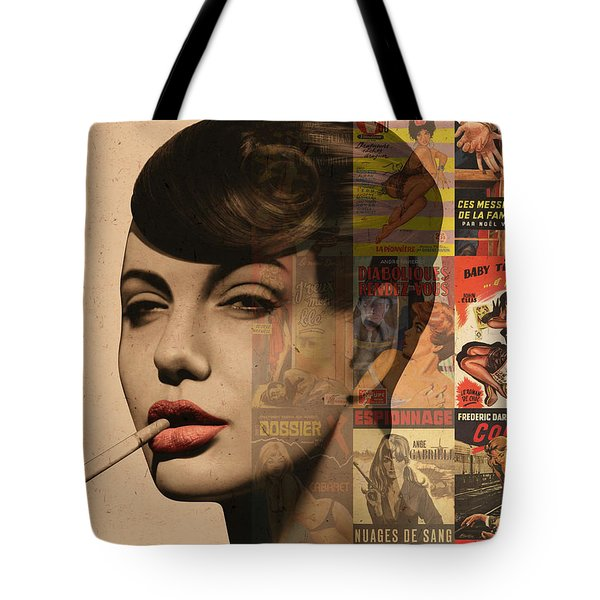 Les Pulps Francaises Tote Bag