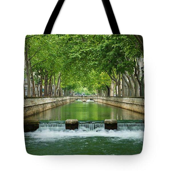 Les Quais De La Fontaine Tote Bag