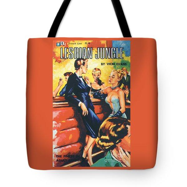 Lesbian Jungle Tote Bag