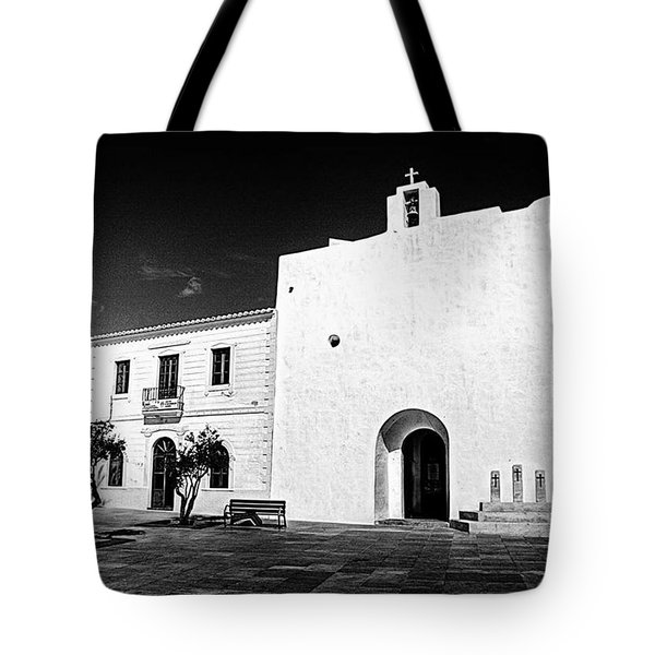 Fortified Church, Formentera Tote Bag